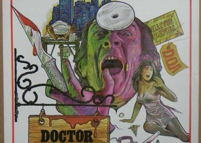 Doctor Butcher M.D. 1980 Zombie Holocaust 1-Sheet Poster Ian McCulloch