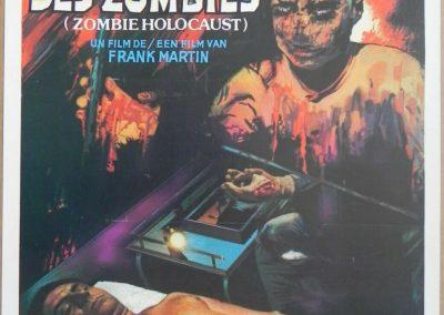 Doctor Butcher M.D. 1980 Zombie Holocaust Belgian Poster Ian McCulloch