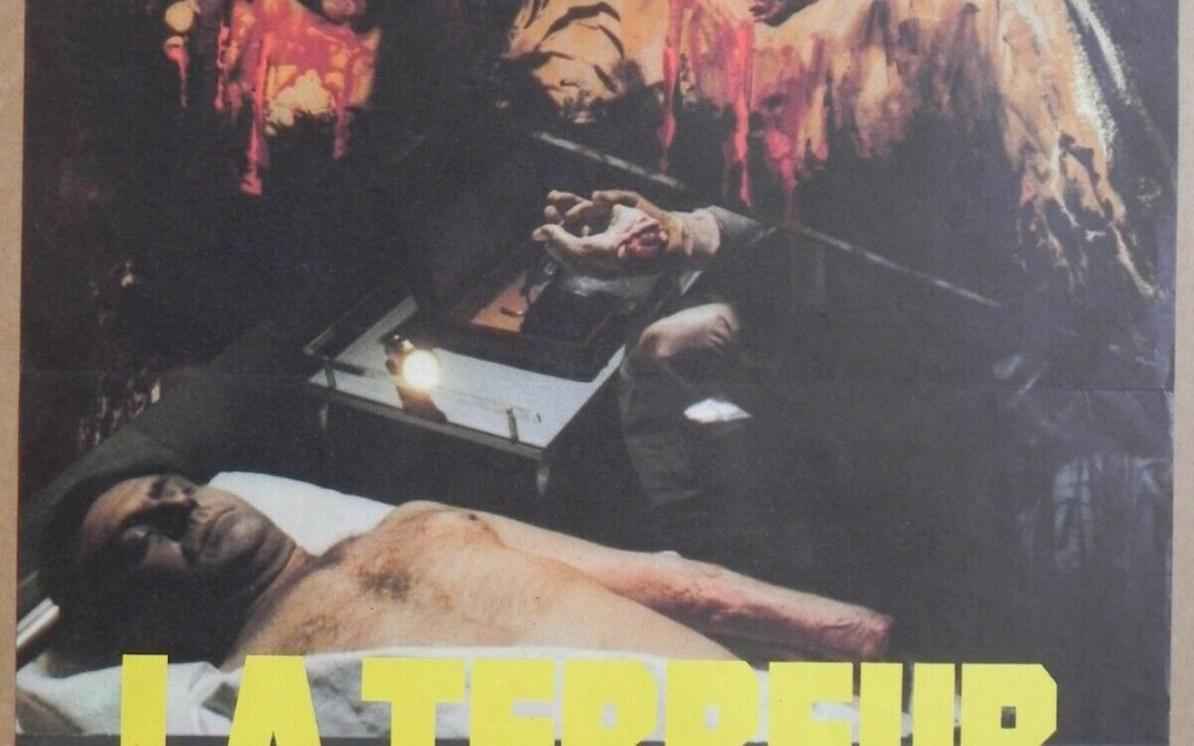 Doctor Butcher M.D. 1980 Zombie Holocaust French Small Poster