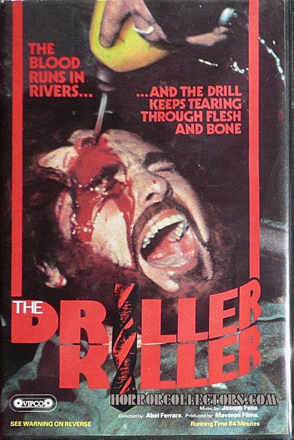The Driller Killer UK VIPCO Pre Cert Video
