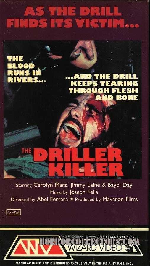 The Driller Killer USA Wizard Video