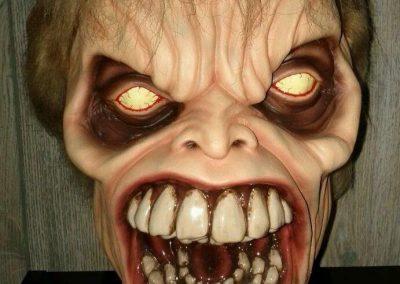 Evil Dead 2 Dead by Dawn Evil Ed replica head by Harry Inman bust
