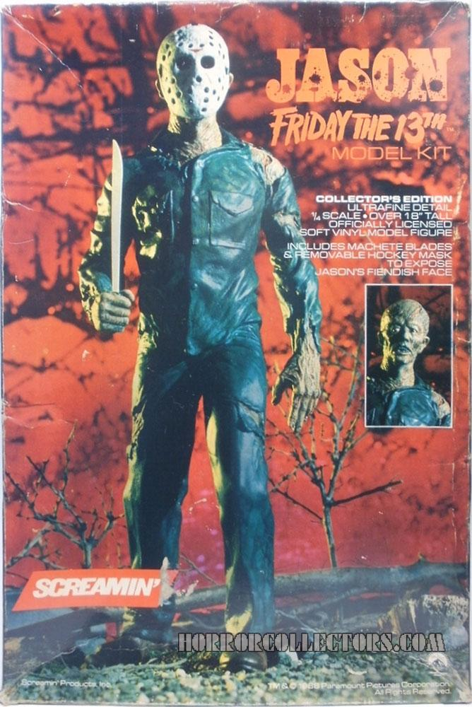 Friday the 13th Jason Voorhees Screamin Model Kit