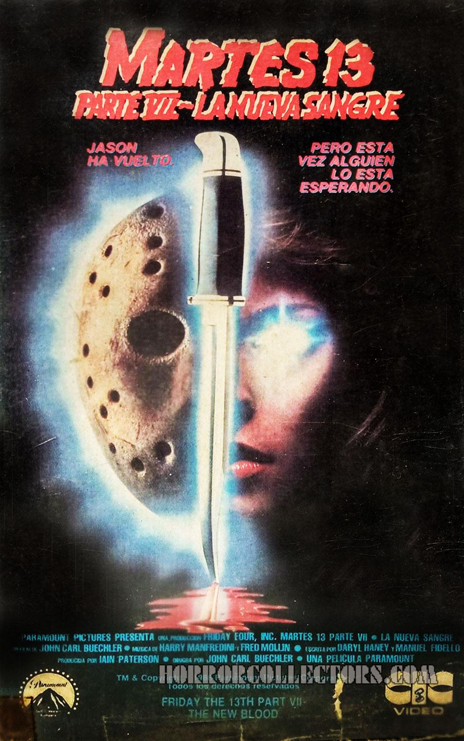 Friday the 13th Part VII The New Blood Argentina CIC Video