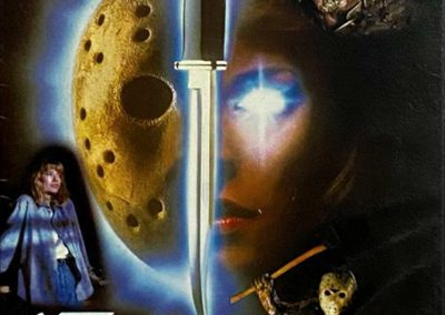 Friday the 13th part 7 new blood japan front copy
