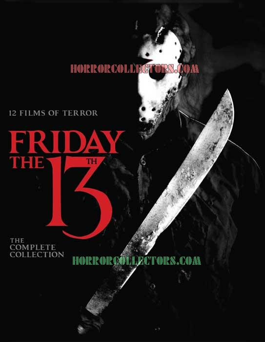 Friday the 13th: The Complete Collection Blu-ray