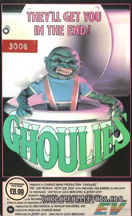 Ghoulies UK EV VHS Video