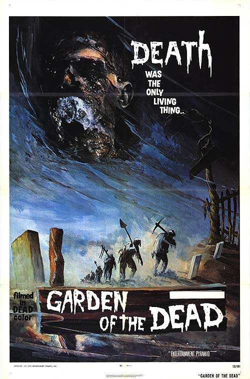 Garden of the Dead USA One Sheet Poster