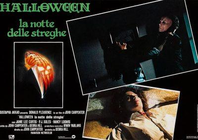 Halloween Italian Fotobusta Poster