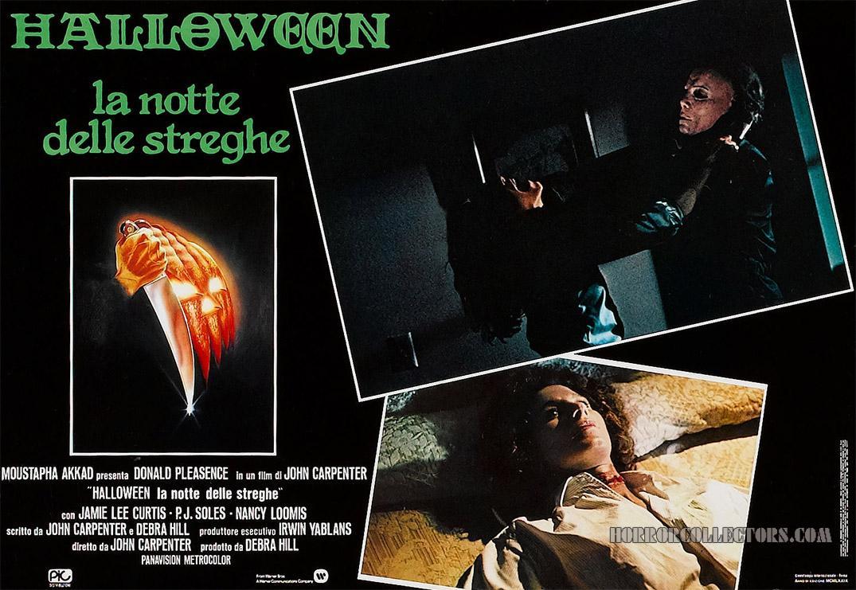 Halloween Italian Fotobusta Posters