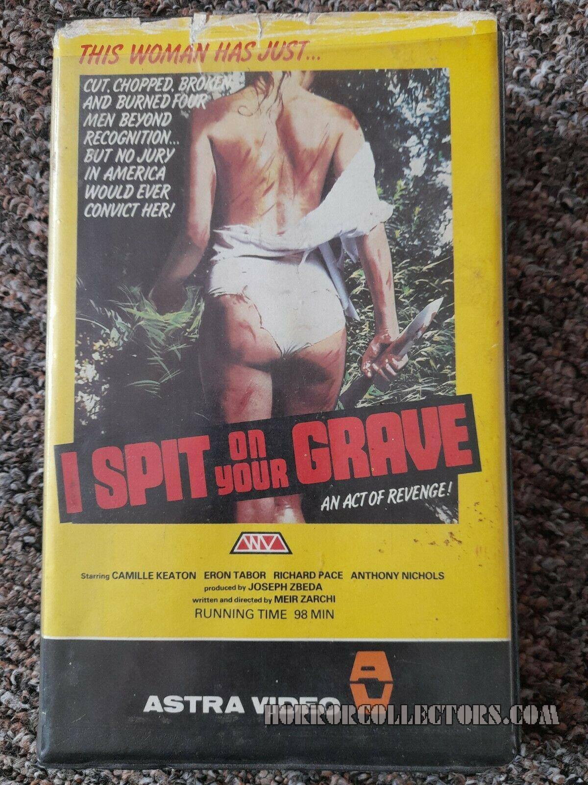 I Spit On Your Grave Astra Video Pre Cert VHS