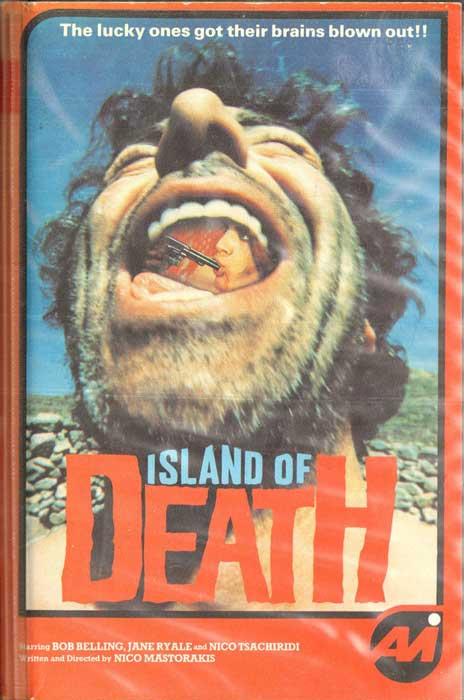ISLAND OF DEATH UK AVI Video VHS Pre Cert