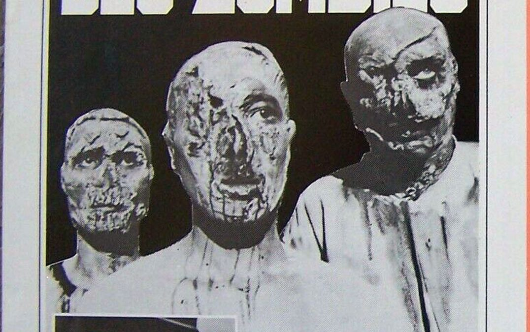La Terreur Des Zombies French Press Sheet front