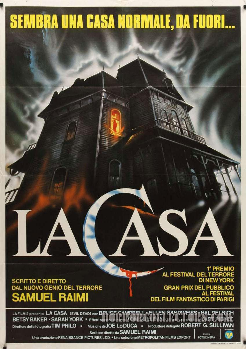 La Casa Italian 2 Fogli Poster