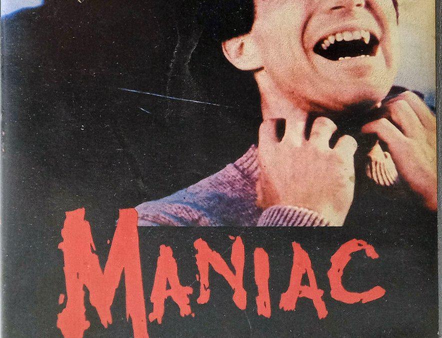 Maniac 1980 HORROR Joe Spinell HVH GREEK VHS Front