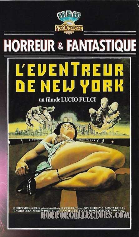 New York Ripper French MPM Video L'eventreur De New-York