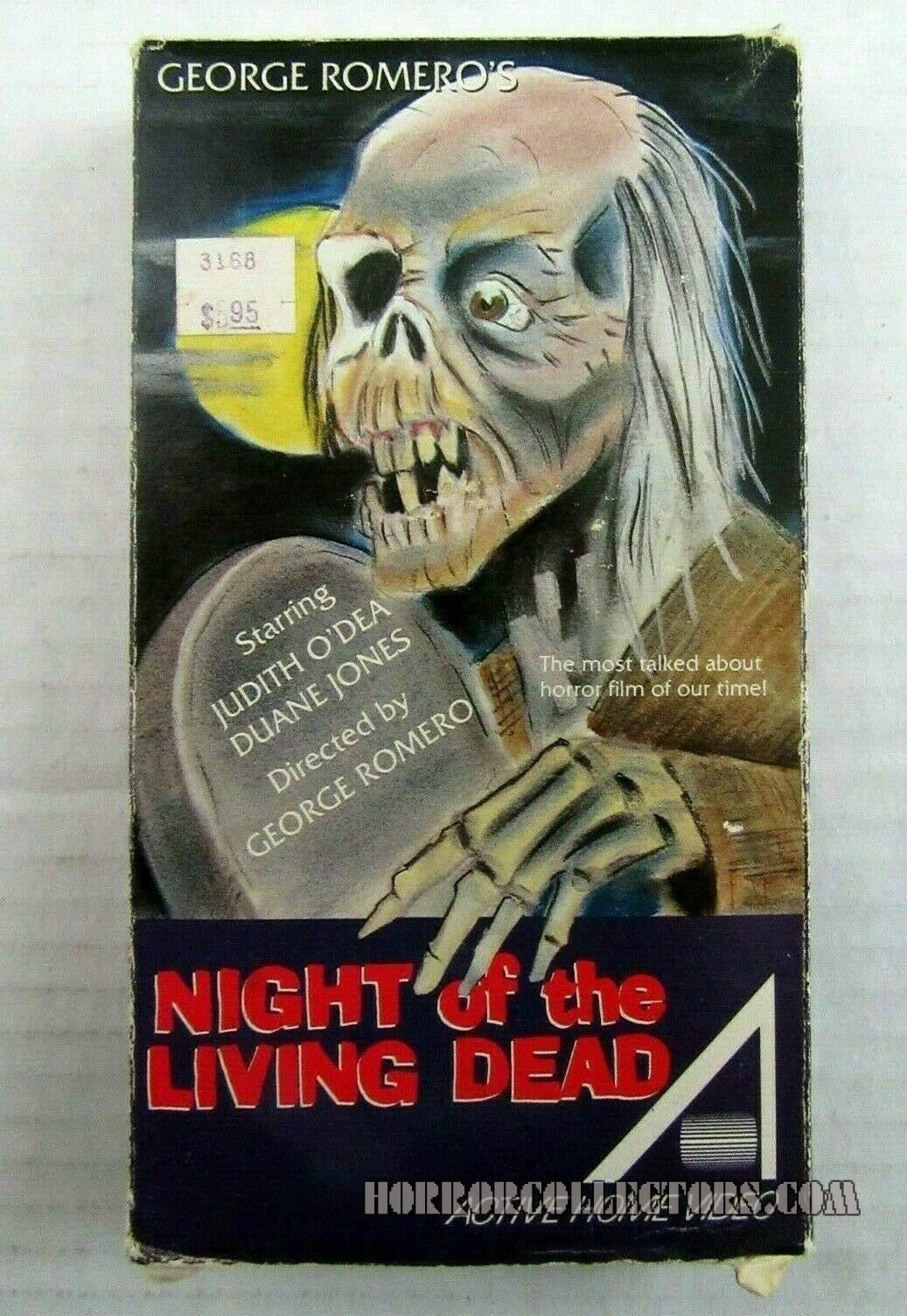 NIGHT OF THE LIVING DEAD Active Home Video