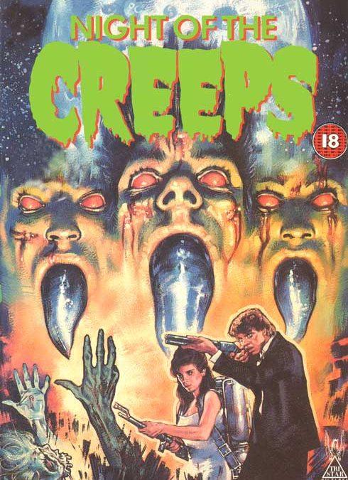 NIGHT OF THE CREEPS CBS FOX VHS UK