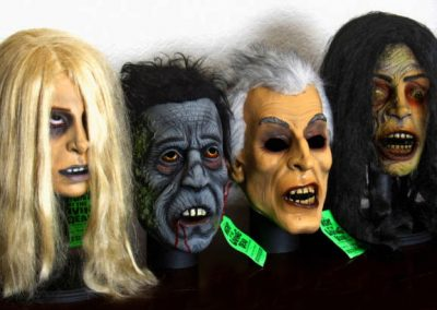 Horror Collectors American Mask & Novelty Night of the Living Dead masks