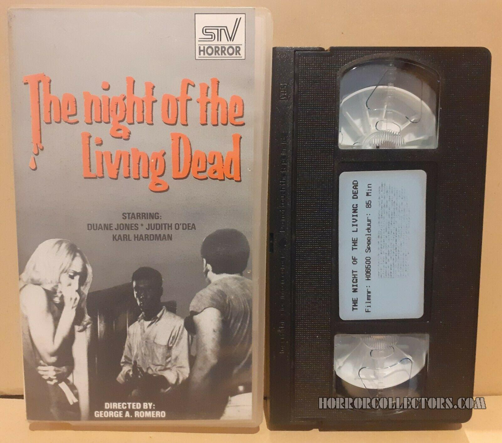 Night of the Living Dead Dutch STV Video