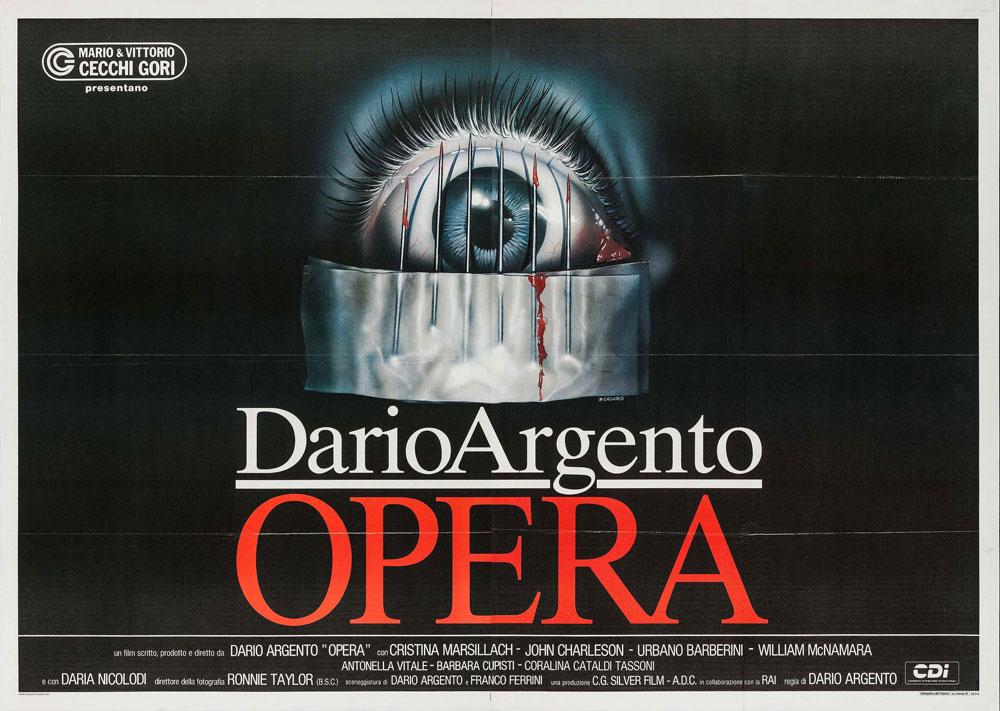Opera CDI 1987 Italian 4 Fogli Poster