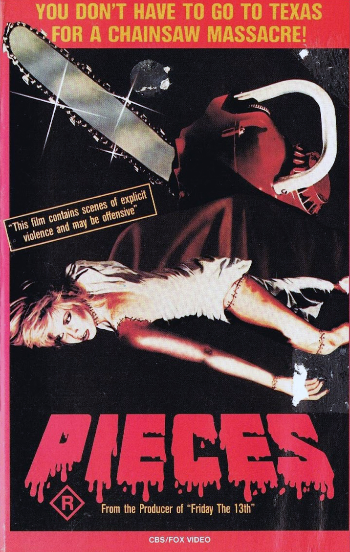 Pieces 1982 HORROR Christopher George