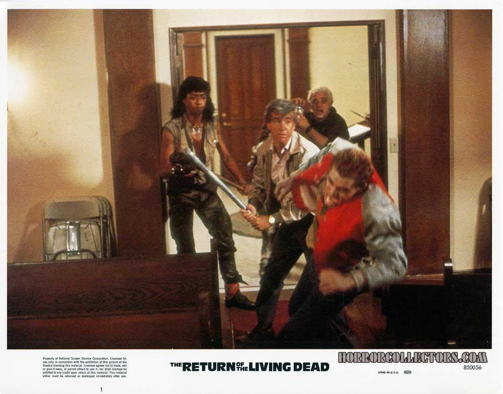 Return of the living dead Orion Pictures Lobby Cards USA