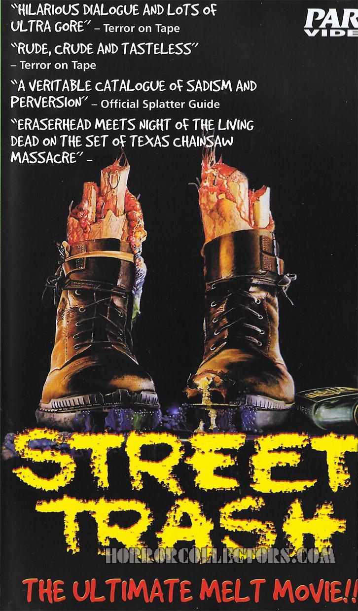 Street Trash Parc Video VHS