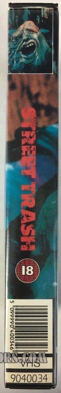 Street Trash UK VHS Spine