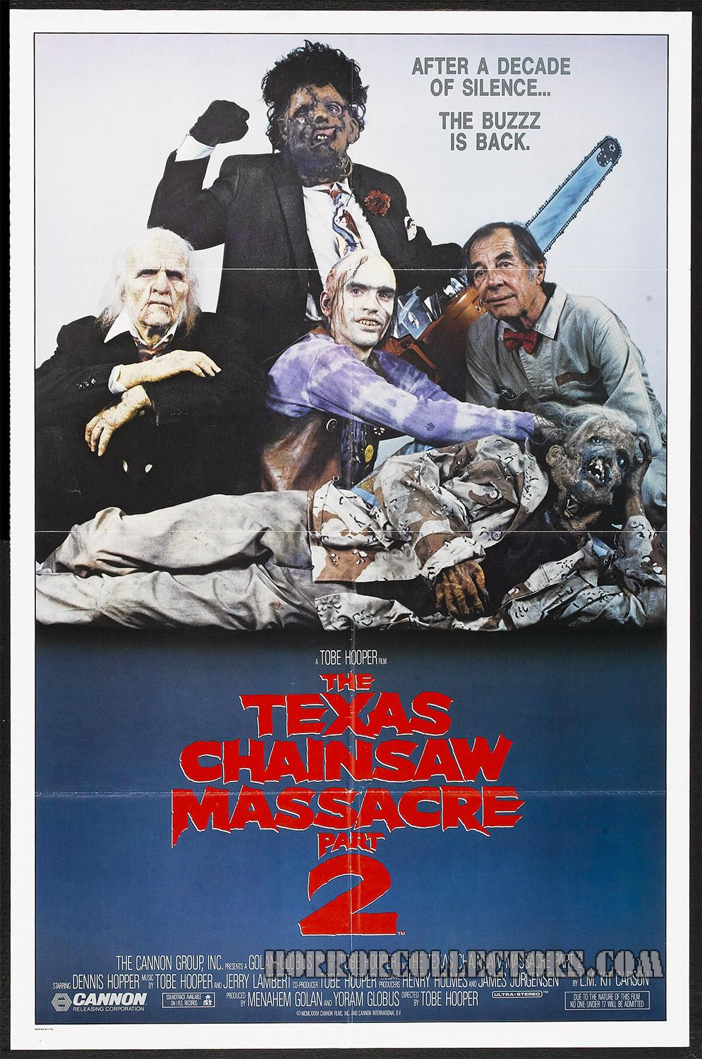 Texas Chainsaw Massacre US One Sheet Poster Style A