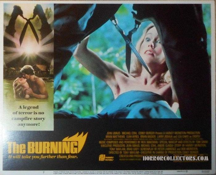 The Burning USA Filmways Pictures Lobby Card Set