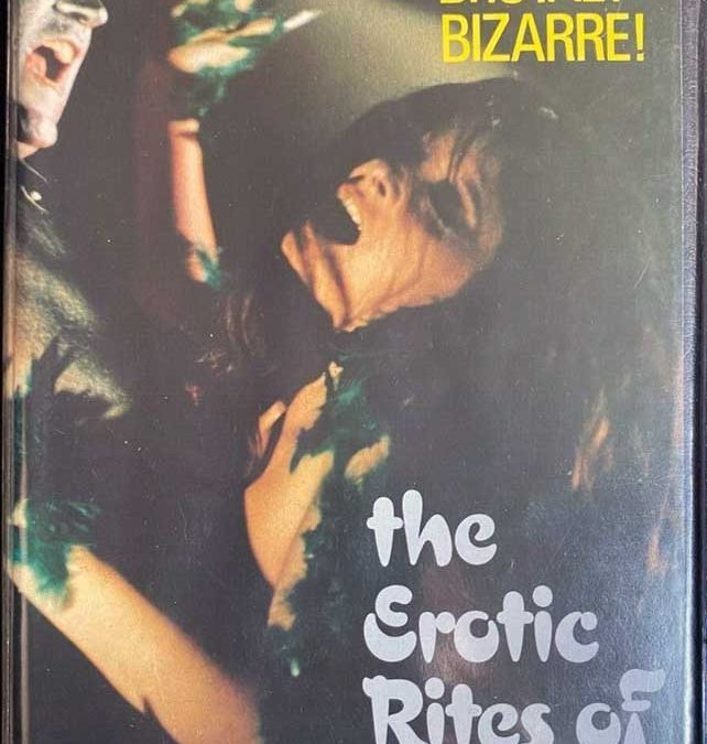 The Erotic Rites Of Frankenstein' on the 'GO' label.