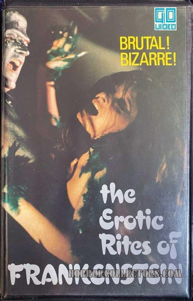 The Erotic Rites Of Frankenstein Go Video Pre Cert VHS