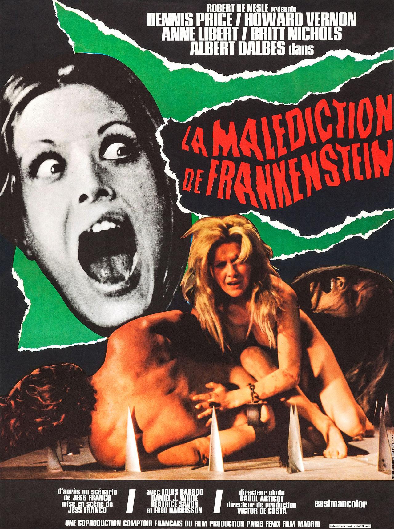 The Erotic Rites Of Frankenstein Jess Franco