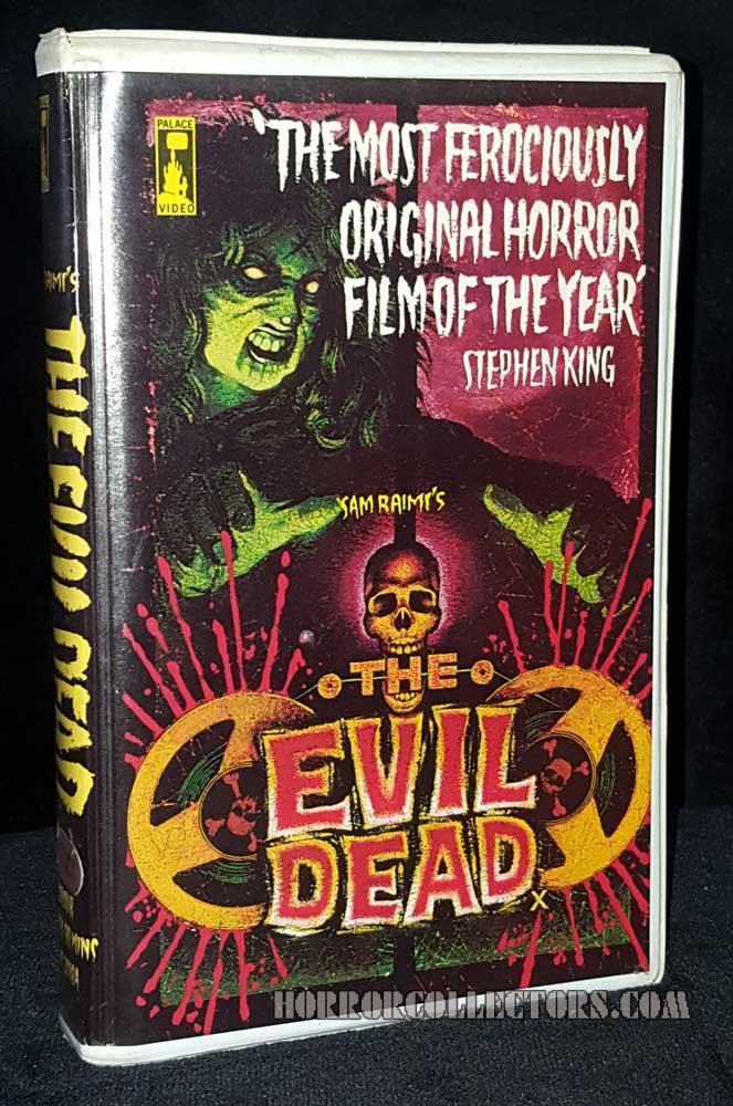 The Evil Dead palace Video UK Pre cert