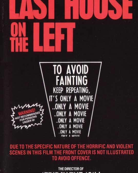 Last House on the Left Pre Cert Front