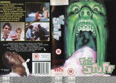 The Stuff UK CBS FOX Video cover