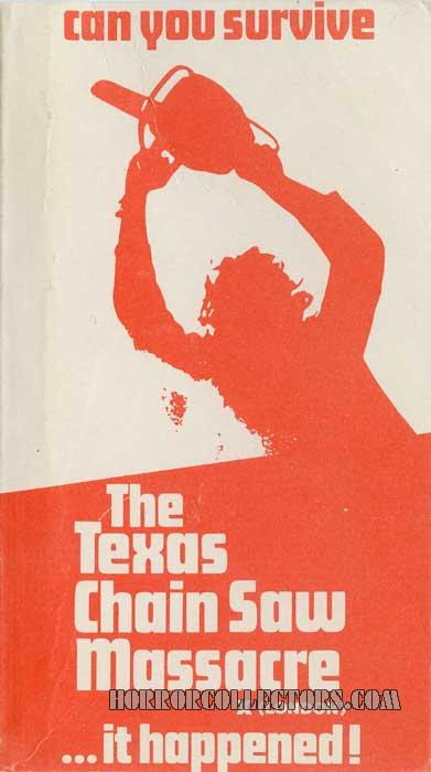 The Texas Chainsaw Massacre UK IFS Pre Cert Video 2nd release