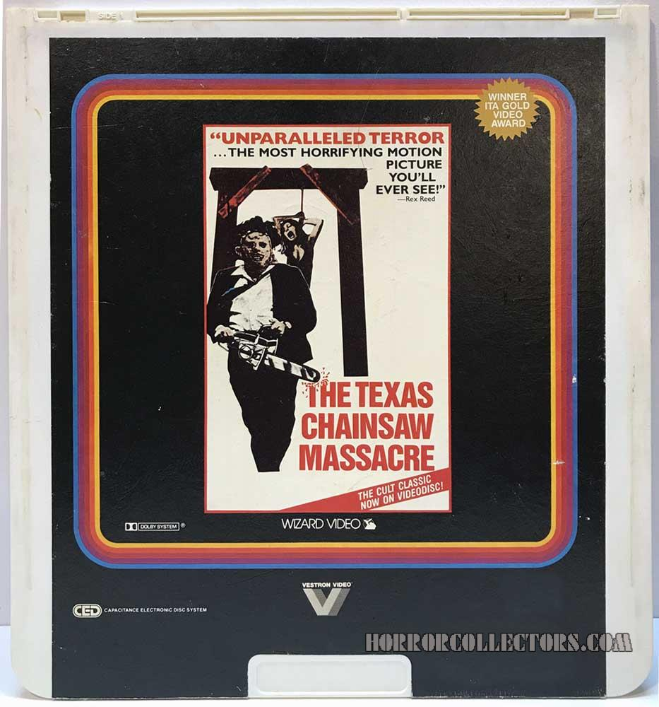 The Texas Chainsaw Massacre Wizard CED Video Disc