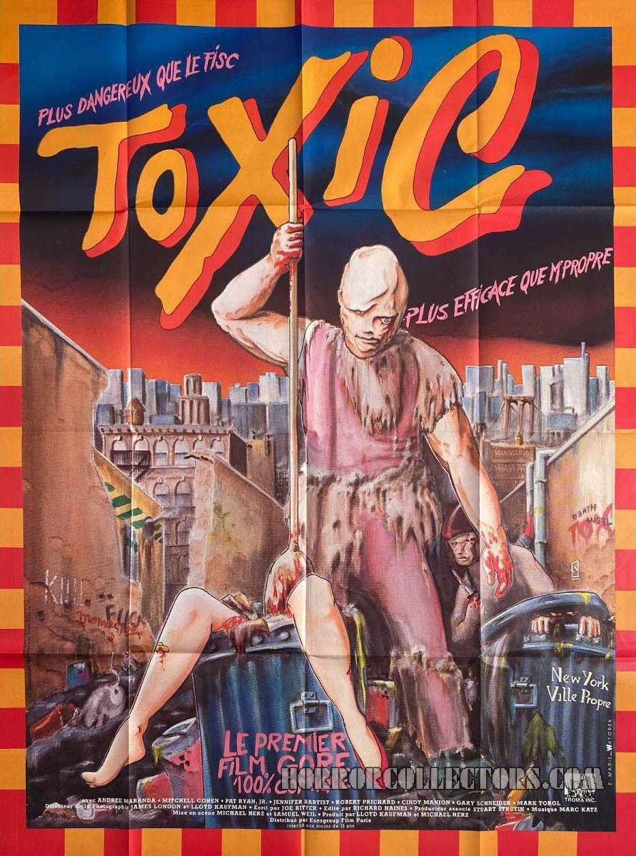 The Toxic Avenger French Grande Poster