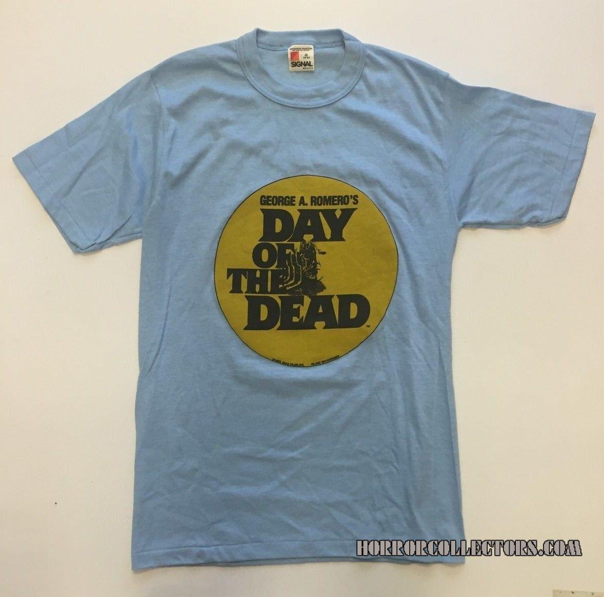 Vintage 1985 George Romero's Day Of The Dead Movie T-Shirt