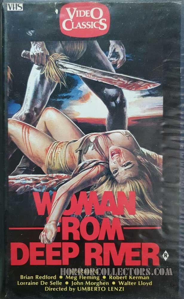 Woman From Deep River / Cannibal Ferox   Video Classics   VHS