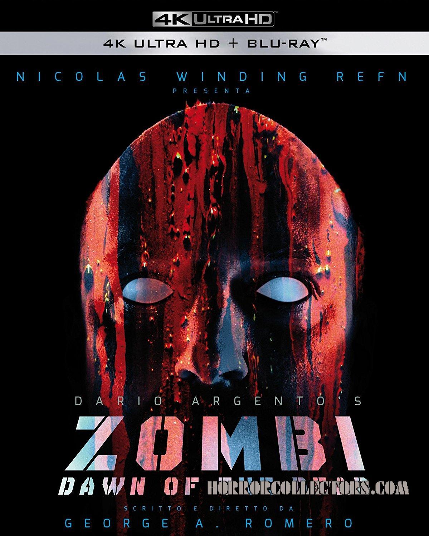 Dawn of the dead Zombi Italian box set BluRay 4k ultra hd+5 blu-ray