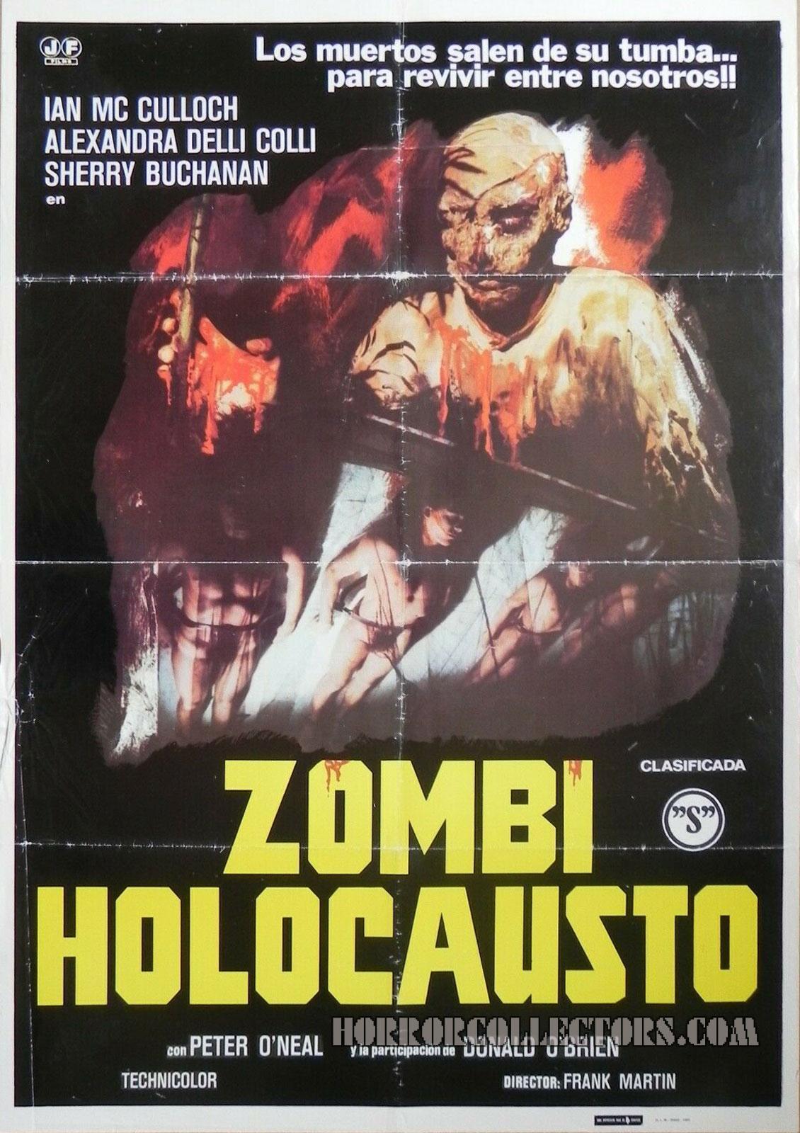 Zombi Holocausto Spanish Poster