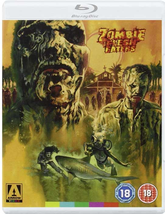 Zombie Flesh Eaters Arrow Video UK Blu-ray