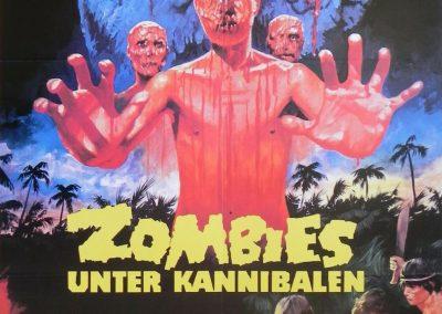 Zombies Unter Kannibalen German A1 Poster