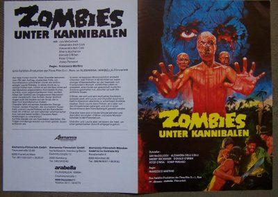 Zombies Unter Kannibalen German Press book 1