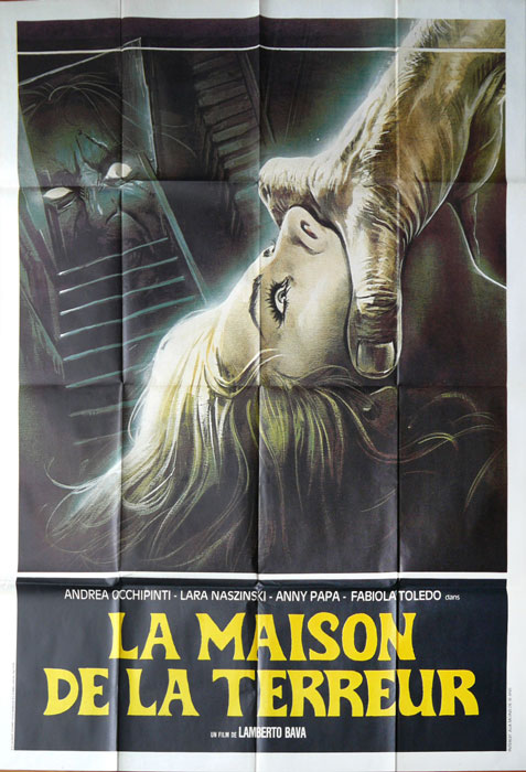 A Blade In The Dark French Grande Poster