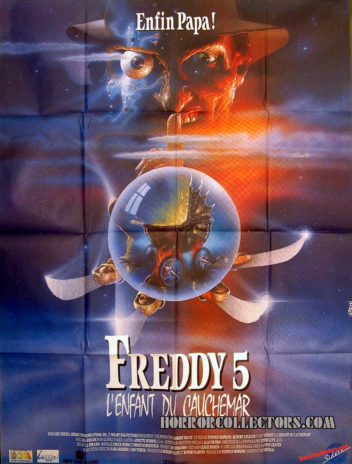 A Nightmare on Elm Street Part 5 French Grande Poster