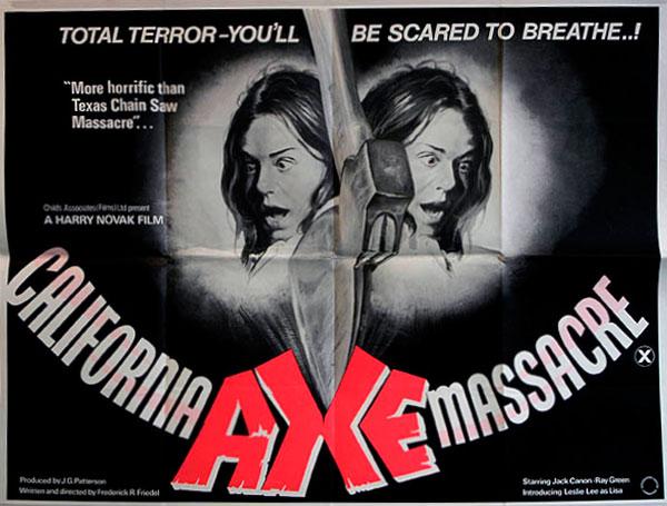 Axe British Quad poster